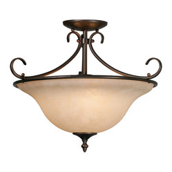 Homestead Convertible Semiflush Light