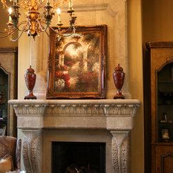 Mediterranean Fireplaces -
