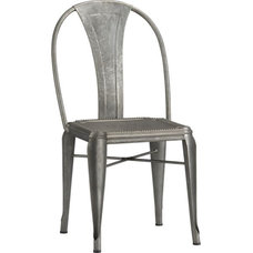 Industrial Dining Chairs by Crate&Barrel