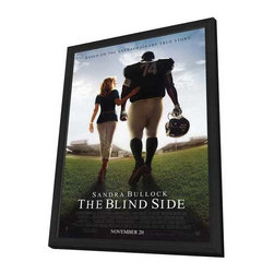The Blind Side 11 x 17 Movie Poster - Style A - in Deluxe Wood Frame - The Blind Side 11 x 17 Movie Poster - Style A - in Deluxe Wood Frame.  Amazing movie poster, comes ready to hang, 11 x 17 inches poster size, and 13 x 19 inches in total size framed. Cast: Jae Head