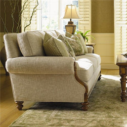 Island Estate West Shore Sofa With Tropical Accents -