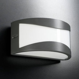 PLC Lighting - PLC Lighting PLC 1727 Single Light Outdoor Wall Sconce from the Baco Collection - PLC Lighting PLC 1727 Contemporary / Modern Single Light Outdoor Wall Sconce from the Baco CollectionSince 1989, PLC Lighting, Inc. has continued to provide our customers with both contemporary and traditional lighting fixtures in a multitude of styles. Their products can be found in showrooms throughout North, Central and South America, as well as the Caribbean Islands. They furnish the finest residences, hotels, restaurants, and office complexes all over the world.Features: