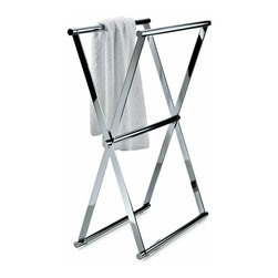 Modo Bath - Harmony 204 Towel Stand in Chrome - Harmony 204 Towel Stand in Chrome
