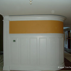 traditional hall by Trim Team NJ