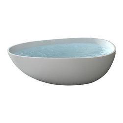 Badeloft - Badeloft - UPC Certified - Stone Resin, Freestanding Bathtub, Matte, Large - UPC Certified -