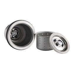 Kraus - Kraus BST-1-ST-1 Stainless Steel Basket Strainer and Strainer Set - *Kraus Set of strainers is an ideal addition to your kitchen sink