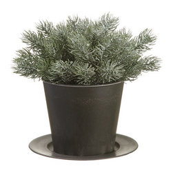 Silk Plants Direct - Silk Plants Direct Glitter Pine Tree (Pack of 6) - Silk Plants Direct specializes in manufacturing, design and supply of the most life-like, premium quality artificial plants, trees, flowers, arrangements, topiaries and containers for home, office and commercial use. Our Glitter Pine Tree includes the following: