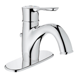 Grohe - Grohe 23306-000 Parkfield Series Single-Lever Bath Faucet - The Parkfield Series Single-Lever Bath Faucet (23306) Features Grohe'S Watercare Technology, Giving It A 1.5 Gpm Flow Rate, And Its Single-Hole Installation Allows You To Mount It In A Matter Of Minutes. Its Metal Lever Handle Allows For Precise Volume And Temperature Control, And It Comes With Grohe'S Silkmove Ceramic Cartridge For Long-Lasting Drip-Free Performance. It Also Features A Starlight Chrome Finish, Solid Brass Construction, An Adjustable Flow Rate Limiter, A pop-up Waste Set, Flexible Hose Connections, And A Built-In Escutcheon For A Beautiful, Finished Look.