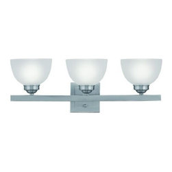 Livex Lighting - Livex Somerset Bath Light Brushed Nickel -4203-91 - Livex products are highly detailed and meticulously finished by some of the best craftsmen in the business