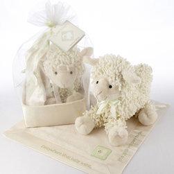 Baby Aspen - On Sale Love Ewe Plush Lamb and Lovie Blanket - Love Ewe Plush Lamb and Lovie Blanket