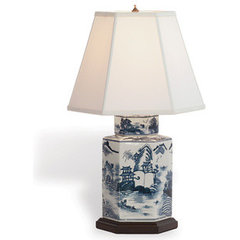 asian table lamps by Furbish