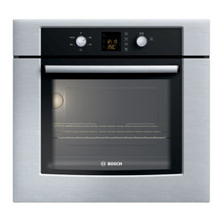 "Bosch 30"" 300 Series Single Wall Oven, Stainless Steel 