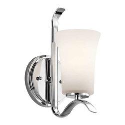 Kichler Lighting - Kichler Lighting 45374CH Armida Transitional Wall Sconce In Chrome - Kichler Lighting 45374CH Armida Transitional Wall Sconce In Chrome