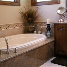 Traditional Vanity Tops And Side Splashes by Colonial Granite Works
