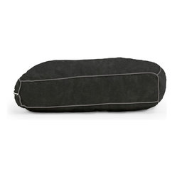 "Comfort Research - Wuf Fuf Black Onyx Comfort Suede Pet Bed (42"" x 28"") - Woof! Bark! Ruff, ruff, ruff!"" That's pet language for, ""The Wuf Fuf Pet Bed Collection is the stylish, comfortable way for me to mark my territory! It's more durable than a chew toy, softer than my owner's lap and more fashionable than this dog collar I'm forced to wear. Now excuse me, but I smell food!"