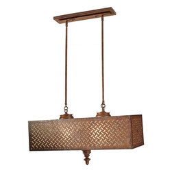 Murray Feiss - Murray Feiss F2904/4MOB Kandira 4 Bulb Moroccan Bronze Chandelier - Murray Feiss F2904/4MOB Kandira 4 Bulb Moroccan Bronze Chandelier