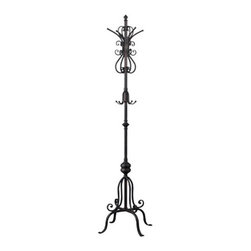 Sterling Industries - Sterling Industries 118-030 Coat Stand Other Furniture in Oil Rubbed Brinze - Vintage Reproduction Coat Stand