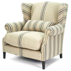 Transitional Armchairs by Kathy Kuo Home