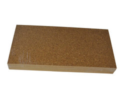 """Forna - 1/4"""" FORNA Natural Cork Flooring Tiles - Golden Beach (21.31 sqft per Package) - This cork flooring is the """"entry level"""" pattern for all of Forna cork flooring types."""