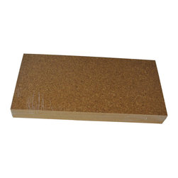 "Forna - 1/4"" FORNA Natural Cork Flooring Tiles - Golden Beach (21.31 sqft per Package) - This cork flooring is the ""entry level"" pattern for all of Forna cork flooring types."