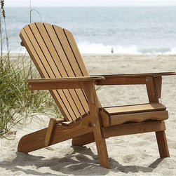 Country Living Adirondack Chair, Natural - Adirondack chairs are a must for beachy summer living. I could not believe the great quality and affordable price of this one from the Country Living line.