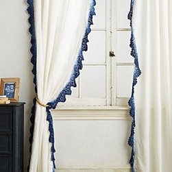 Anthropologie - Ombre Lace Curtain - *Sold individually