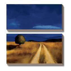 Artcom - The Way Home by Tandi Venter - The Way Home by Tandi Venter is a Canvas Art Set.