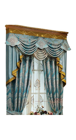 Ulinkly.com - luxury window curtain - Blue King - Ulinkly is for affordable custom-made luxurious window curtains. We partner exclusively with top premium factories(top 1-2 sellers in international market) selling high-end custom-made curtains with top quality and hundreds high-end styles (Drapery, Voile and Valance) selection in North America.