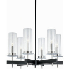 modern chandeliers by Euro Style Lighting