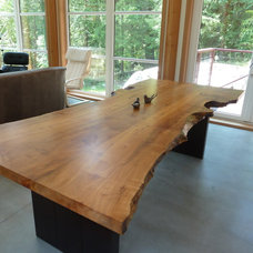 Rustic Dining Tables by True Custom Cabinetry