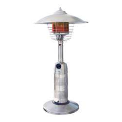 Stainless Steel Round Table Top Patio Heater - What a perfect way to enjoy your patio during the colder months. With this