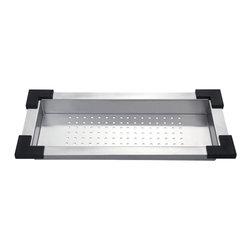 Kraus - Kraus Stainless Steel Colander - *Kraus Colander is an ideal addition to your kitchen sink