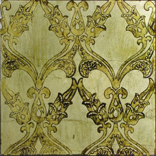 Mediterranean Wallpaper by RHUBY ARCHITECTURAL GLASS