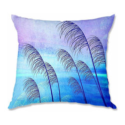 DiaNoche Designs - Pillow Woven Poplin from DiaNoche Designs by Iris Lehnhardt Tropical - Toss this decorative pillow on any bed, sofa or chair, and add personality to your chic and stylish decor. Lay your head against your new art and relax! Made of woven Poly-Poplin.  Includes a cushy supportive pillow insert, zipped inside. Dye Sublimation printing adheres the ink to the material for long life and durability. Double Sided Print, Machine Washable, Product may vary slightly from image.