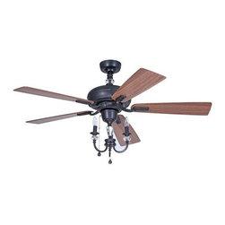 """Ellington Fans - Ellington Fans Boulevard 5 Blade 54"""" Ceiling Fan - Features:"""