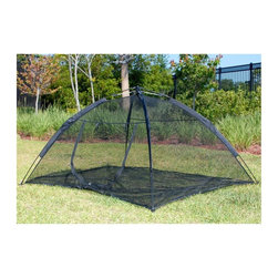 ABO Gear - ABO Gear Happy Habitat Cat Enclosure Multicolor - 10672 - Shop for Outdoor Playhouses from Hayneedle.com! When your cat loves the outdoors but you want them safe the Happy Habitat is a perfect choice. This mesh tent pops up in seconds and is completely enclosed including the floor! Your cat can romp around take a nap in the sun and be protected at the same time. It's just like a camping tent with a zippered door. Add a bed or even a small climbing stand for all-day fun. It all folds up into a sleek carrying bag and at 30 square feet is ideal for multiple cats too.About ABO GearAustralian Beach Outdoor or ABO Gear has been making outdoor life more comfortable since 1995. This outdoor equipment company is based in Decatur Georgia and in 2004 decided to use their experience making rugged gear for people to make outdoor life more fun for pets as well. They now create green and earth friendly pet gear out of natural products like jute wool cotton coconut fiber natural gum rubber and leather to ensure a long and healthy eco sustainable future. Their own pets get to try out all the pet houses pet beds tunnels toys and more to ensure they're pet friendly. ABO Gear has also formed a partnership with Barking Hound Village Foundation in Atlanta to help test products. ABO Gear creates pet products that are good for the pet good for the planet and good for the wallet too.