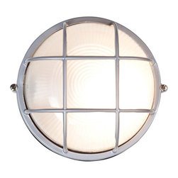 Access Lighting - Access Lighting Nauticus C20294 Fluorescent Outdoor Wall Sconce - C20294BLFSTEN1 - Shop for Wall Mounted from Hayneedle.com! A stylish light for patio or porch the Access Lighting Nauticus C20294 Fluorescent Outdoor Wall Sconce has a grid-style frame of strong and naturally rust-proof aluminum in your choice of beautiful metallic finishes. It includes one 13W spiral bulb. Available with the option of frosted glass this sconce is UL listed for wet conditions and is certified by Energy Star for energy-efficient cost-saving performance.About Access LightingAt Access Lighting top-quality lighting solutions are simple smart practical beautiful and affordable. Those fundamentals permeate the Access Lighting experience from browsing to catalogue to ordering to receipt. With contemporary and transitional styles for indoors and outdoors as well as a wider range of energy-efficient options California-based Access Lighting values customers just as much as it does quality lighting.