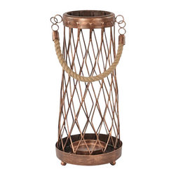 "Ren Wil - Ren Wil CAN075 Cabot 13"" Iron Table Candle Holder - Features:"