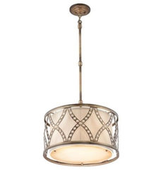 eclectic pendant lighting by Jace Interiors & CreateGirl Blog