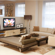 Contemporary Entertainment Centers And Tv Stands by Cliff Young Ltd.
