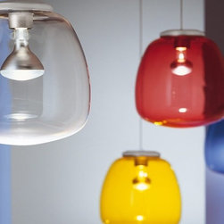 Alt Lucialternative - Omega pendant - The Omega suspension light from ALT LUCIALTERNATIVE is designed by Arter & Citton. From the creativity of architects Arter & Citton, a bright, versatile, and practical lamp was developed. Distinguished by a diffuser made in bright, transparent, and acrylic material, in very fun colors such as yellow and transparent . The playful appearance is combined with strict planning principles, both productive and technological.