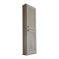 None - Shaker Series 48-inch Wall Cabinet - Spice up your kitchen with this on-the-wall cabinet. Perfect for use of spices,medicine or just storage. This cabinet has two doors for extra room for everyone in the house.