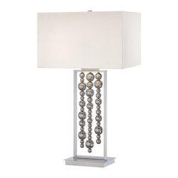 "Kovacs - Kovacs P762-077 2 Light 33.5"" Height Table Lamp Decorative Portables Co - Two Light 33.5"" Height Table Lamp from the Decorative Portables CollectionFeatures:"