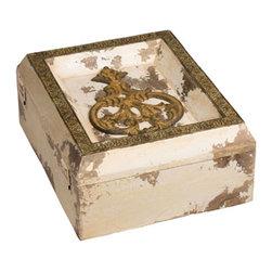 Sterling Industries - Token Box Decorative Accessory - Token Box Decorative Accessory by Sterling Industries
