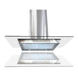 "Windmax - 36"" Euro Style Stainless Steel Glass Wall Mount Range Hood Kitchen Hood - * Brand New 36"" Wall Mount Stainless Steel Kitchen Range Hood."