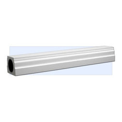 "Inviting Home - Dallas Bottom Rail - 8 foot long - Bottom rail - 8'00"" long top width - 5-1/2""W bottom width - 7""W height - 3-1/8""H Bottom Rails for Exterior Balustrade will not crack or rot like wood; Low maintenance; Structurally reinforced with ""schedule 90"" PVC pipe. Outstanding durability bottom rail for exterior balustrade made of high density polyurethane eliminating the need for regular maintenance. This bottom rail is durable and easy to install using common woodworking tools can be finished with any quality paints."