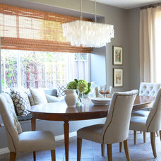 Contemporary Dining Room by Brittany Stiles Interior Design