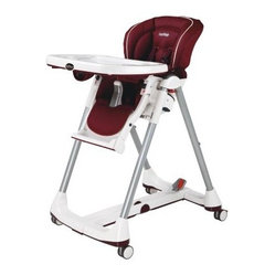 Perego prima pappa best high chair bordeaux has a beautiful modern