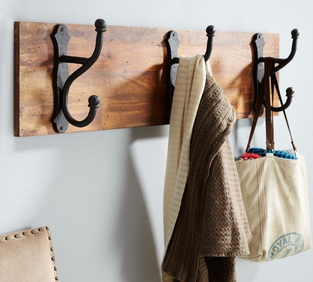Traditional Wall Hooks by Pottery Barn