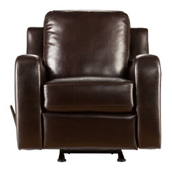 Holly & Martin - Braxton Rocker Recliner - Add this beautiful rocking chair to your family room to enhance your family time. The luxury and comfort of this reclining chair are sure to be the highlight of the room and envy of your guests.